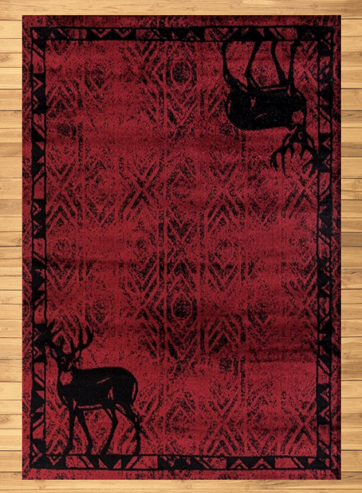 Hudson Red Rug | Rugs For Sale Outlet