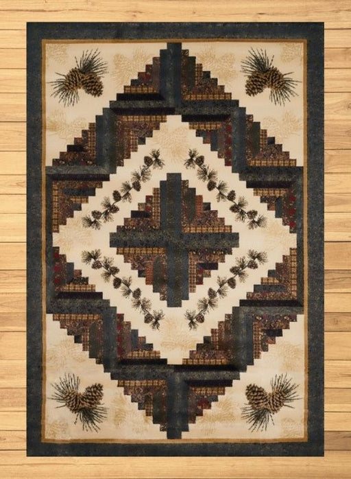 Pine Cross Rug | Rugs For Sale Outlet