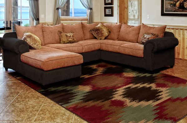 Santa Rosa Rug Room View | Rugs For Sale Outlet