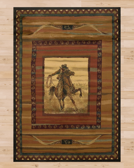 Western Cowboy Rug | Rugs For Sale Outlet