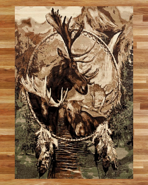 Yellowstone Moose Rug Overview | Rugs For Sale Outlet