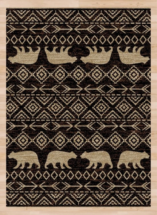 Alberta Falls Brown Rug | Rugs For Sale Outlet