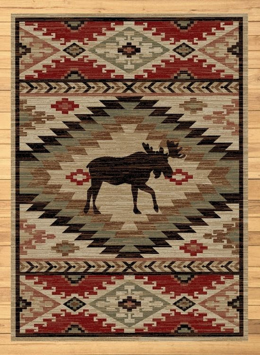 Autumn Moose Rug Rug | Rugs For Sale Outlet