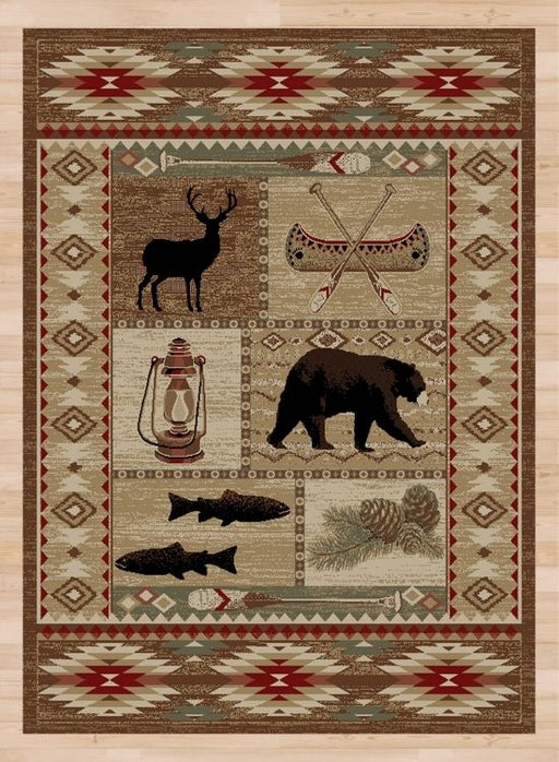 Canoe Camp Rug | Rugs For Sale Outlet