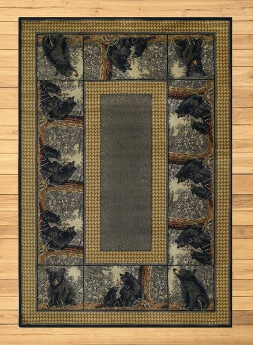 Bear Family Rug | Rugs For Sale Outlet