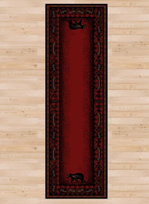 Bear Hearth Rug Runner | Rugs For Sale Outlet