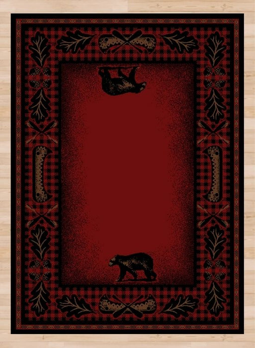 Bear Hearth Rug | Rugs For Sale Outlet