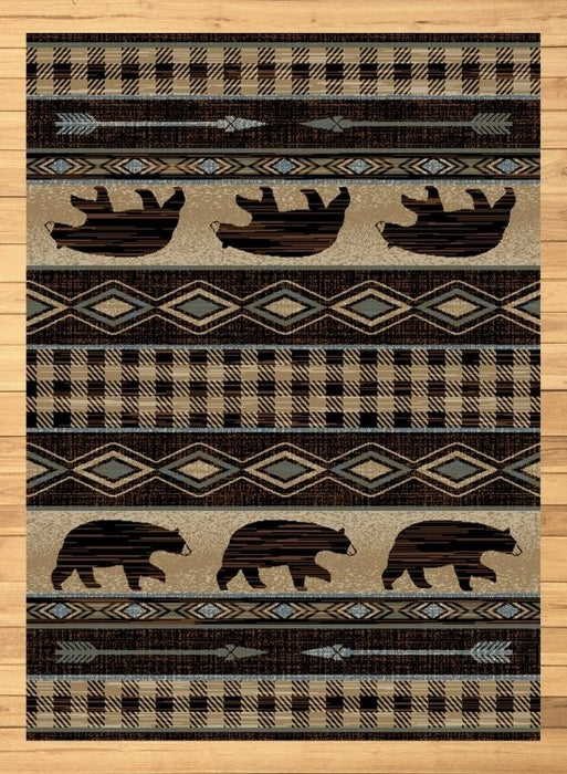 Bear Lodge Tan Rug | Rugs For Sale Outlet