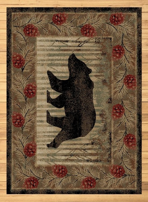 Bear Spruce Rug | Rugs For Sale Outlet