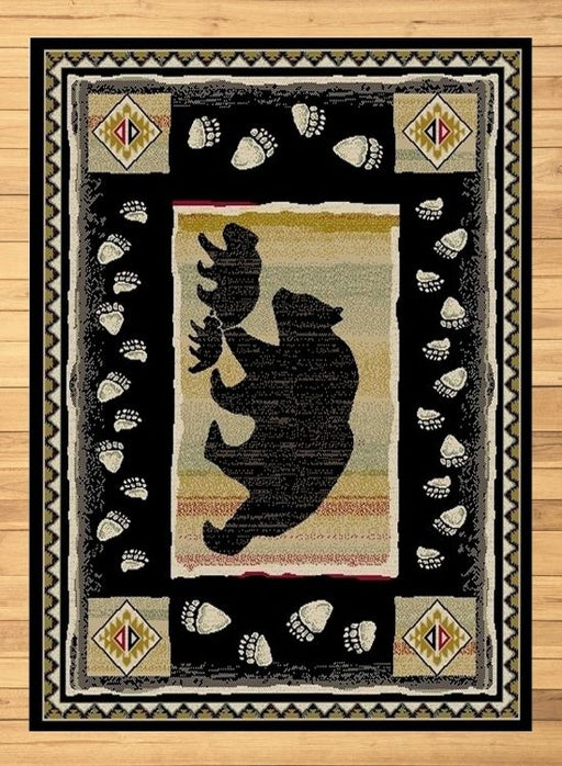 Bears At Dusk Rug | Rugs For Sale Outlet