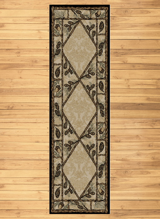 Pine Branch Lane Rug Runner | Rugs For Sale Outlet