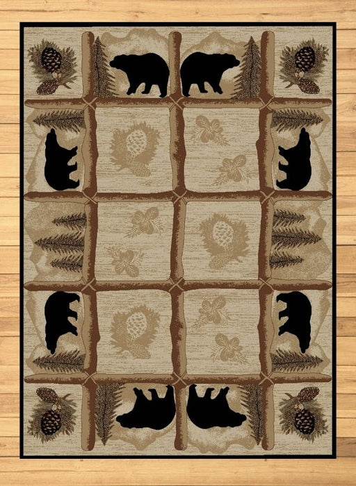 Black Bear Lane Rug | Rugs For Sale Outlet