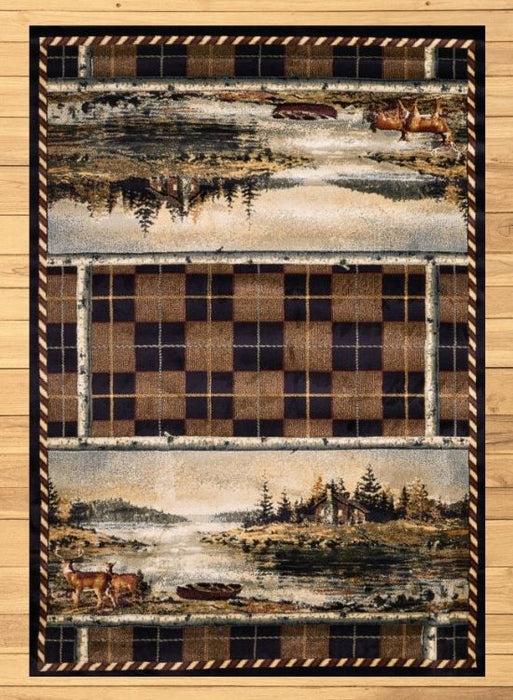 Checker Lake Rug | Rugs For Sale Outlet