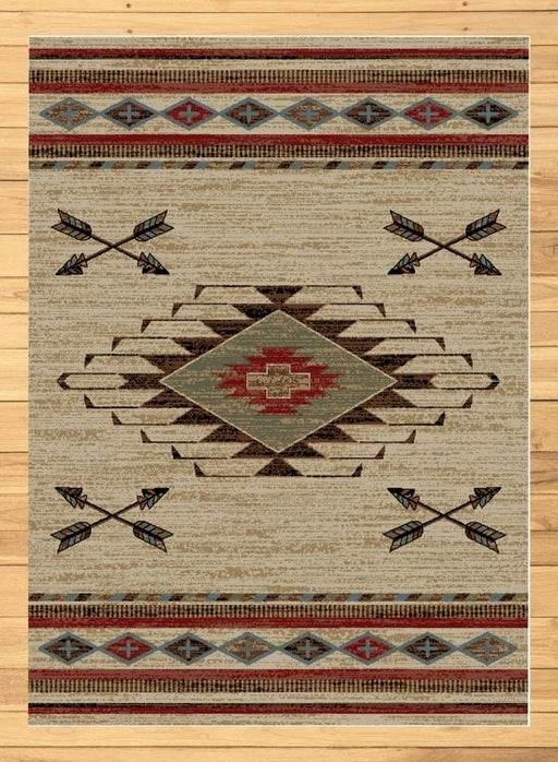 Cross Arrows Rug | Rugs For Sale Outlet