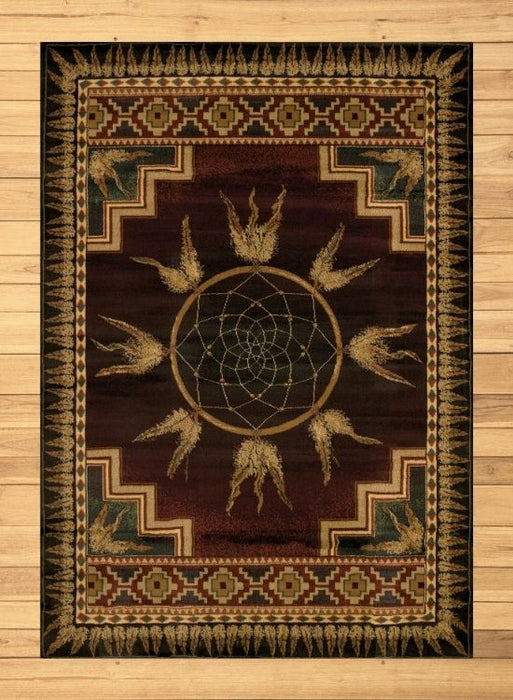 Dreamcatcher Red Rug | Rugs For Sale Outlet