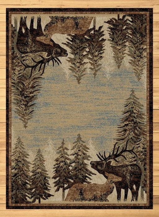 Elk Bugle Rug | Rugs For Sale Outlet
