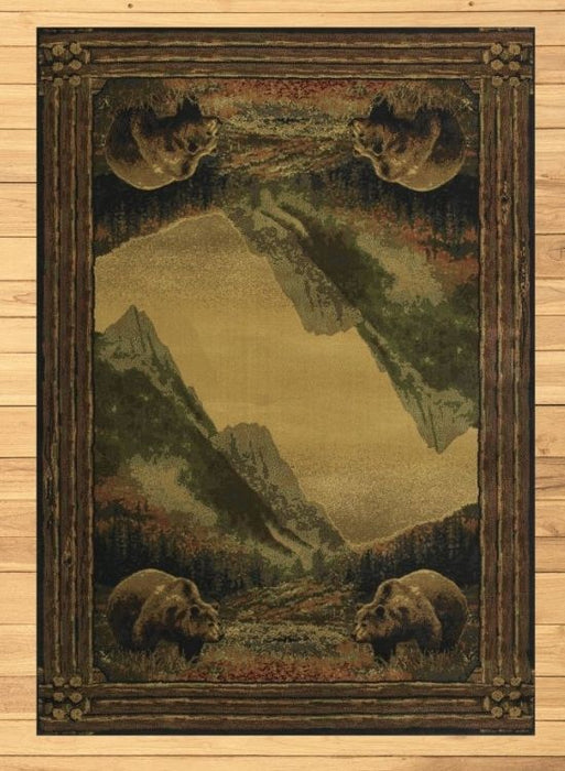 Grizzly Meadows Rug | Rugs For Sale Outlet