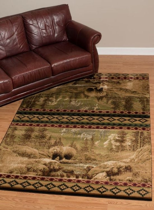Grizzly Mountain Rug | Rugs For Sale Outlet