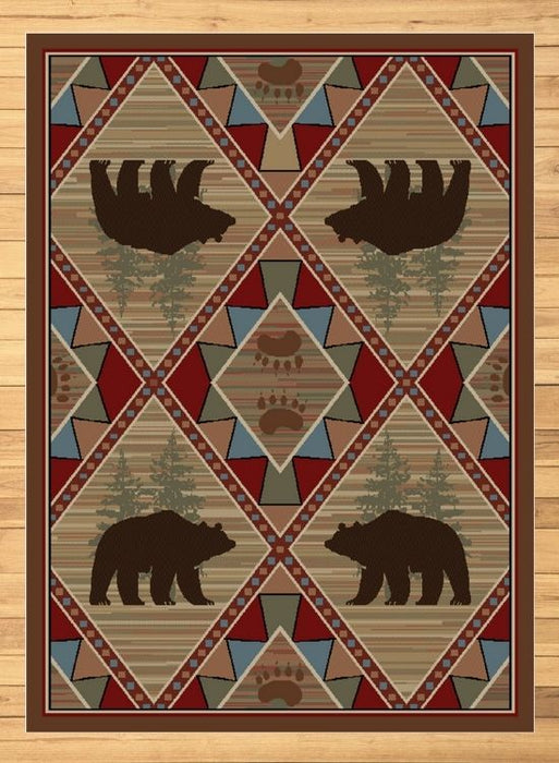 Loveland Bear Rug | Rugs For Sale Outlet