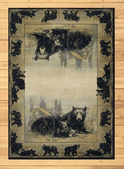 Mama and Cubs Rug | Rugs For Sale Outlet