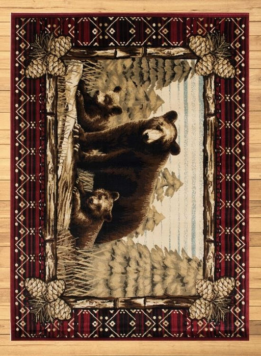 Mama Bear Pine Rug | Rugs For Sale Outlet