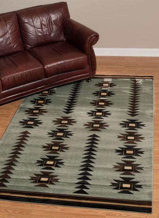 Moccasin Blue Rug | Rugs For Sale Outlet