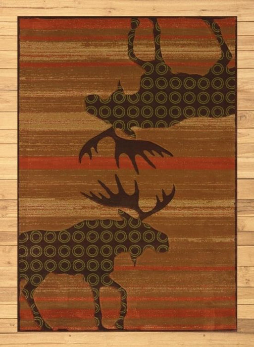 Moosley Burnt Rug | Rugs For Sale Outlet