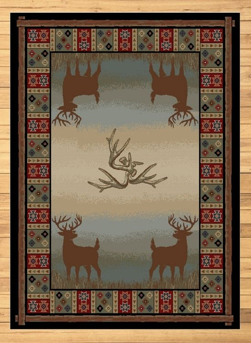 Native Buck Rug | Rugs For Sale Outlet