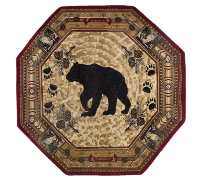 Northern Waters Rug Octagon | Rugs For Sale Outlet