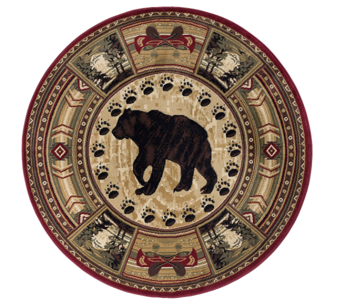 Northern Waters Rug Round | Rugs For Sale Outlet