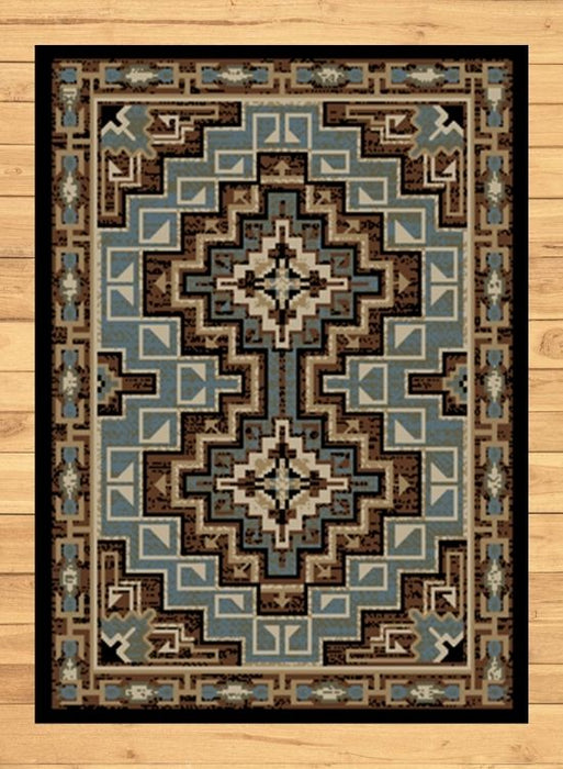 Pima Azure Rug | Rugs For Sale Outlet
