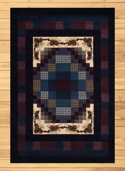 Purple Pine Rug | Rugs For Sale Outlet