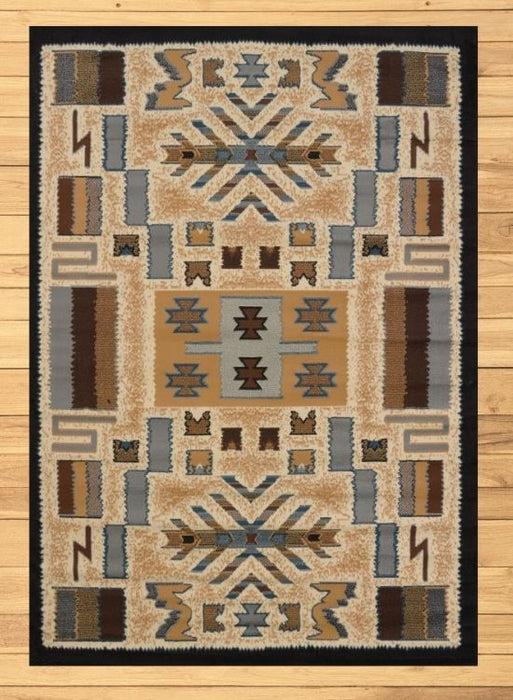 San Luis Tan Rug Overview | Rugs For Sale Outlet