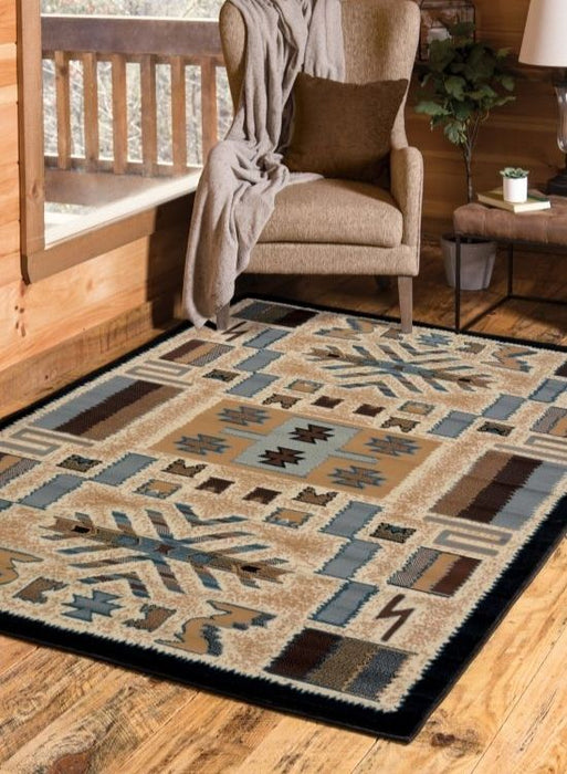 San Luis Tan Rug | Rugs For Sale Outlet