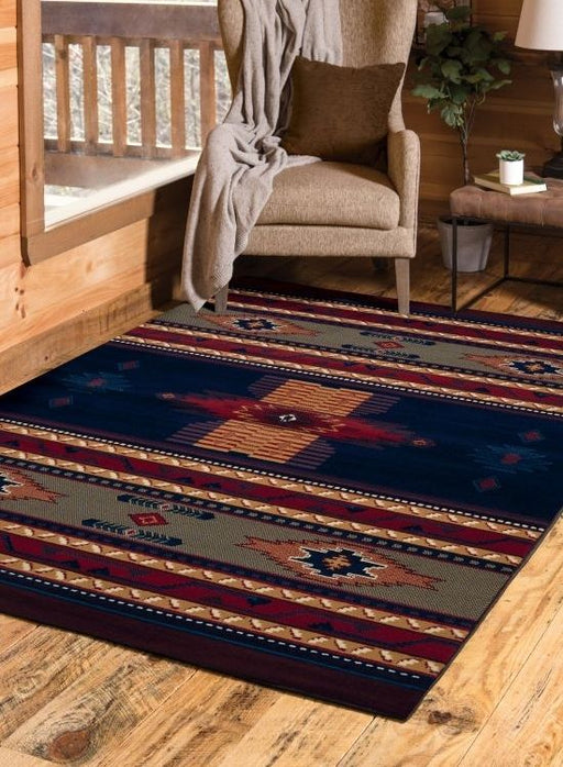 Sedona Blue Rug | Rugs For Sale Outlet