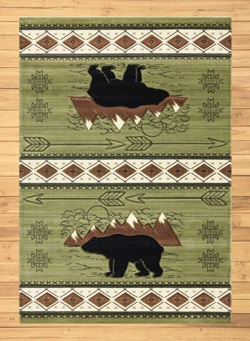 Teton Green Rug Overview | Rugs For Sale Outlet