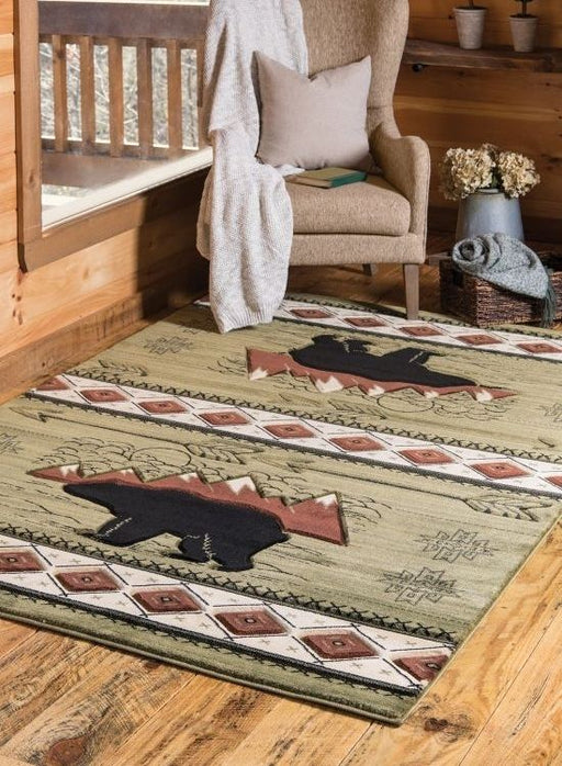 Teton Green Rug | Rugs For Sale Outlet
