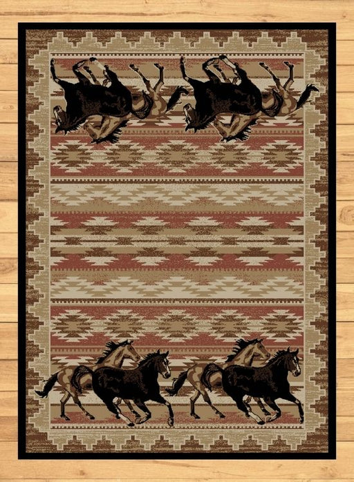 Wild Stallion Rug | Rugs For Sale Outlet