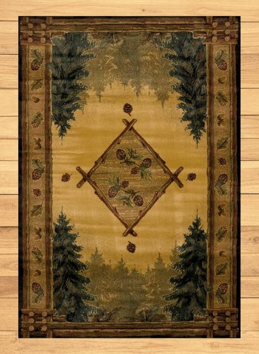 Wilderness Treasure Rug | Rugs For Sale Outlet