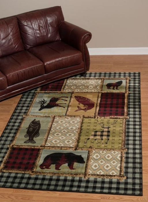 Wildwood Plaid Rug | Rugs For Sale Outlet