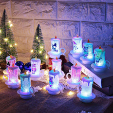 Load image into Gallery viewer, Christmas Decoration LED Electronic Candle Light