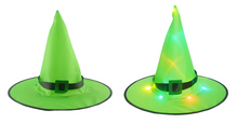 Load image into Gallery viewer, 🎃Limited Time Special Only $6.99🎃 Glowing Witch Hat Hanging/Wearable