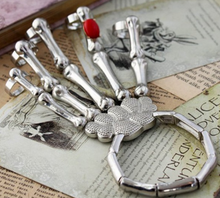 Load image into Gallery viewer, Halloween Skeleton Hand Bracelet