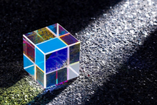 Load image into Gallery viewer, RGB Dispersion Optical Glass Prism - Gift of Light