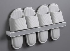 Wall-Mounted Shoe Rack Punch Free Rack For Home