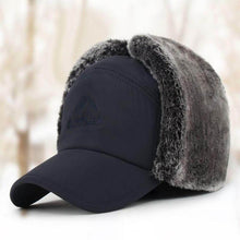 Load image into Gallery viewer, Faux Fur outdoor Mountaineer Cap