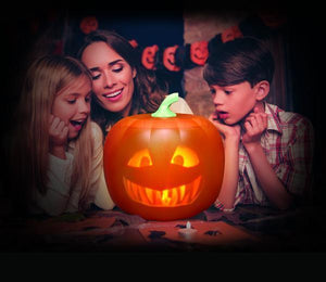 🎃Halloween Talking Animated Pumpkin with Built-In Projector & Speaker🎃