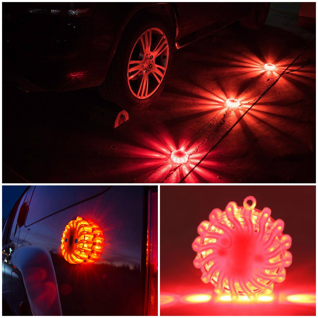 LED Magnetic Flare Disk - Makes dangerous situations instantly safer!
