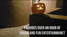 Load image into Gallery viewer, 🎃Halloween Talking Animated Pumpkin with Built-In Projector & Speaker🎃