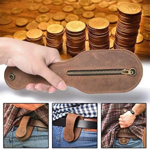 🔥(BUY 3 PAY 2)-Men's Multi-Tool Coin Purse Outdoor Self-Defense Wallets